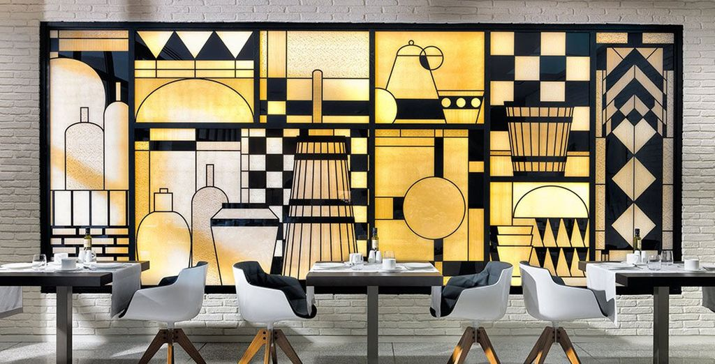 Regálate una cena en el restaurante Modern Art