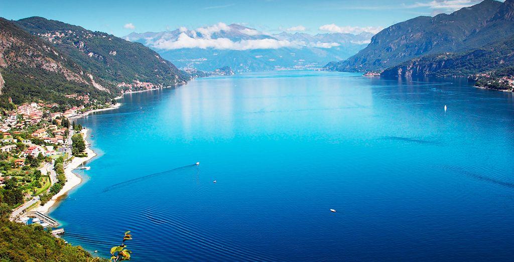 Aprovecha la ocasión para visitar el lago de Como