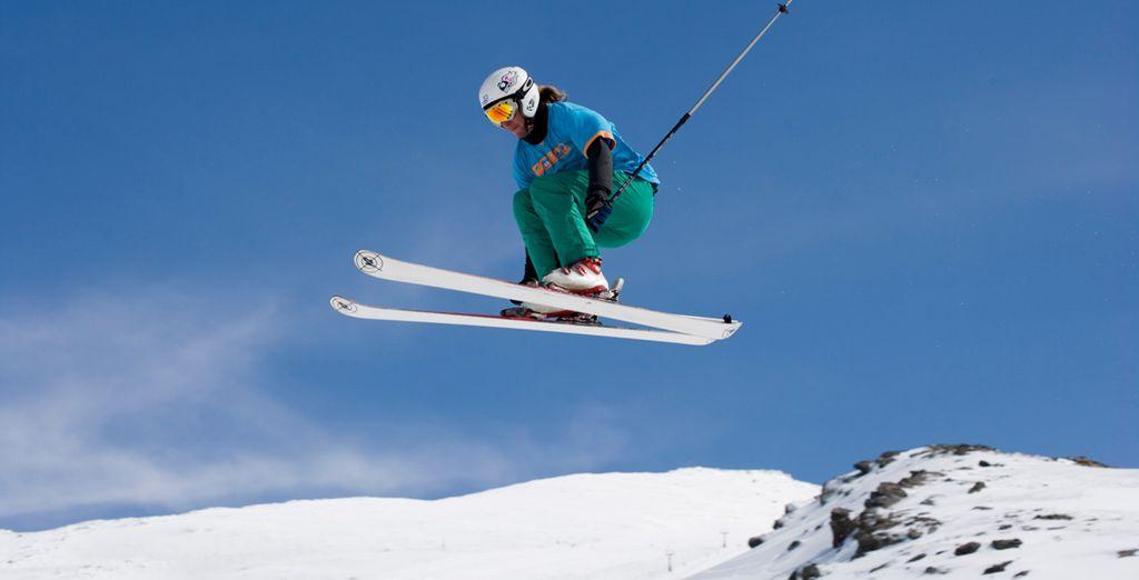 Disfruta del esquí en unas inmejorables instalaciones