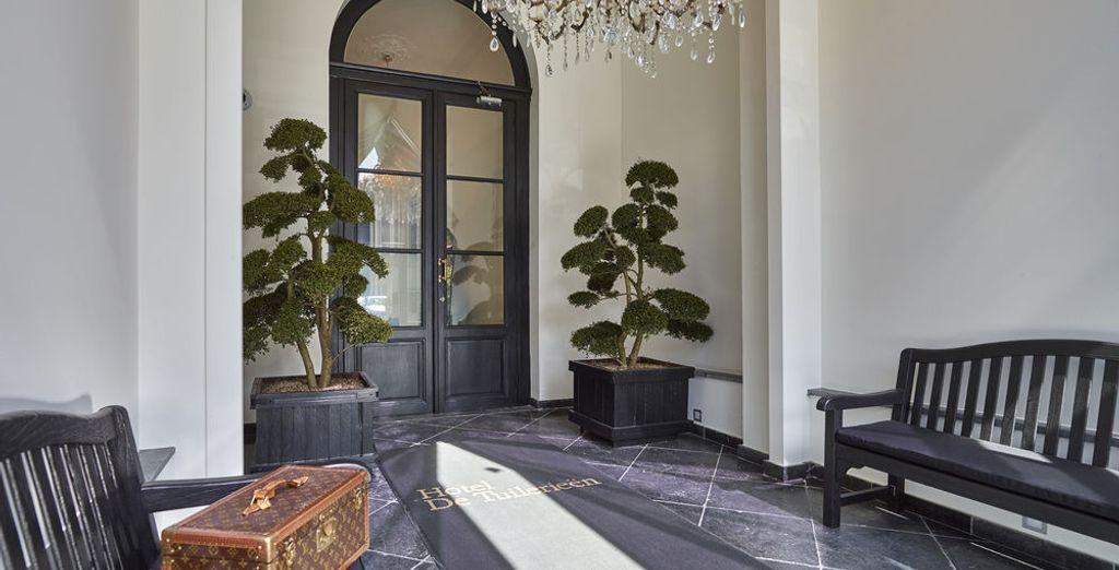 Zonas comunes elegantes y lujosas