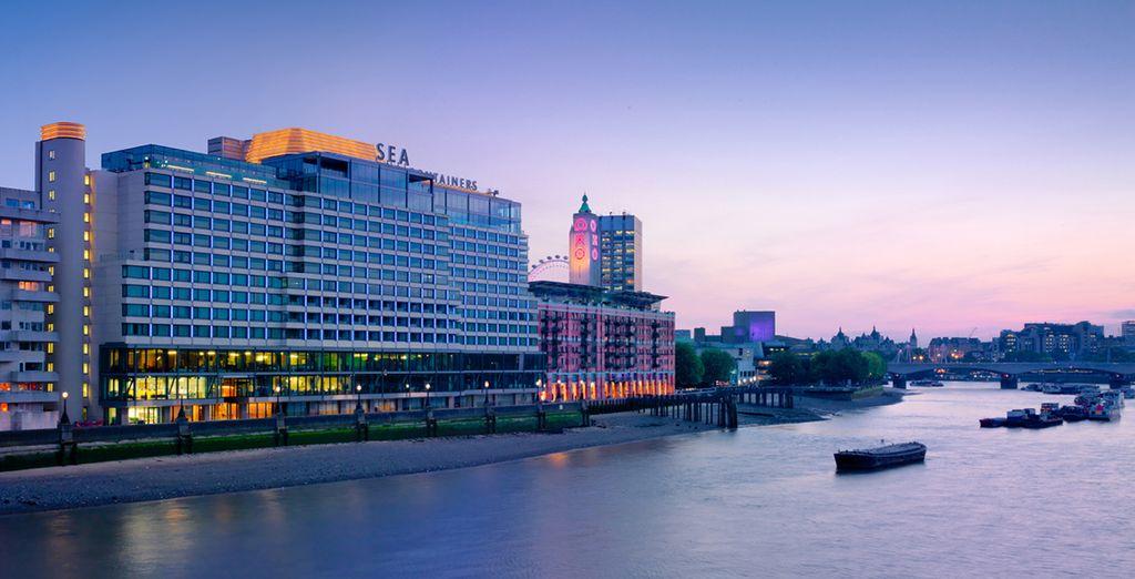 El hotel se encuentra junto al río, a solo 7 minutos a pie del Tate Modern y del teatro de Shakespeare The Globe
