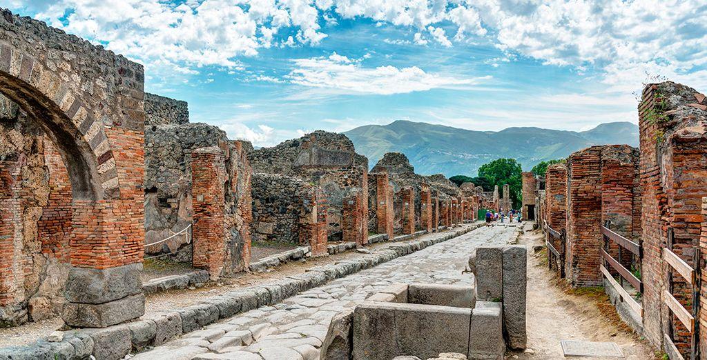 Acércate a la histórica Pompeya