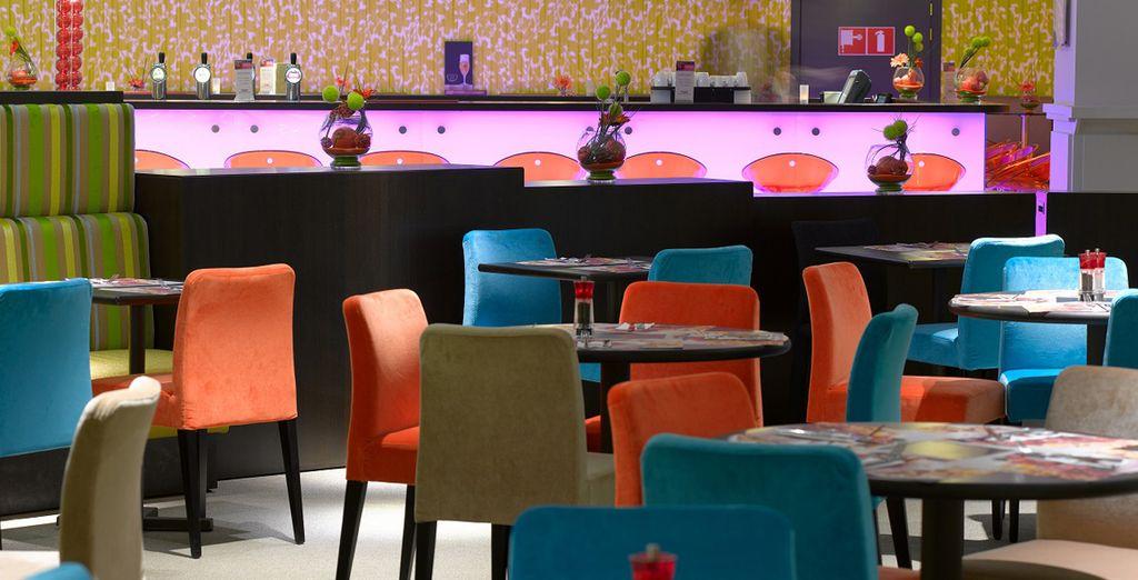 Te alojarás en el Thon Hotel City Centre 4*, en Bruselas