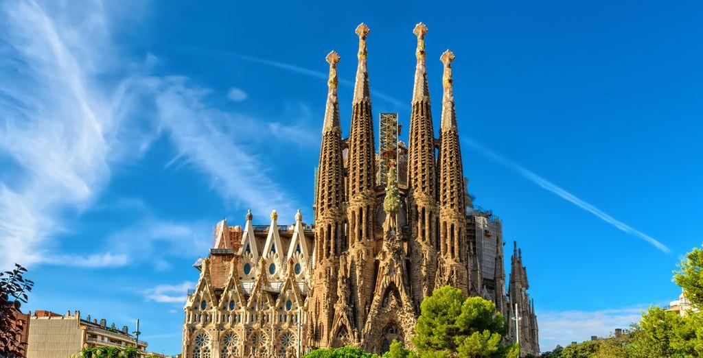 Vacaciones en Barcelona con hoteles, viajesy escapadas