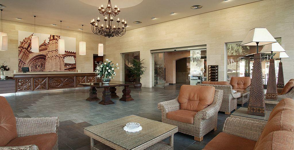 Interiores cálidos y acogedores