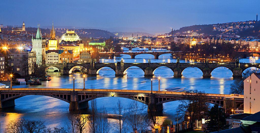 Tendrás la oportunidad de realizar un tour de 2 horas por la capital checa