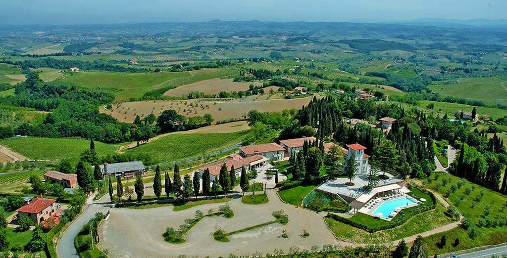 Un oasis de relajación en la bella Toscana