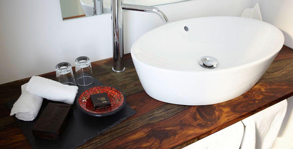 Baño con todas las comodidades a tu alcance