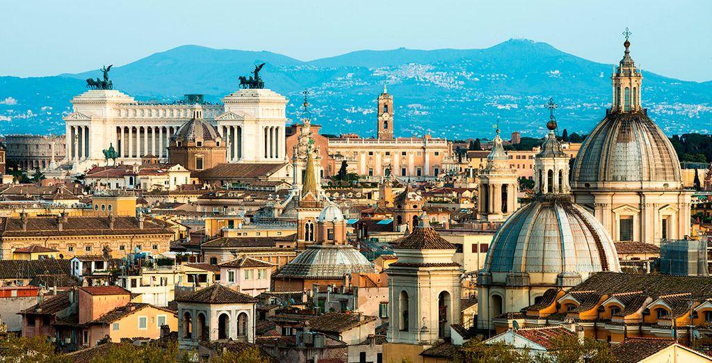 Roma, siempre eterna y hermosa