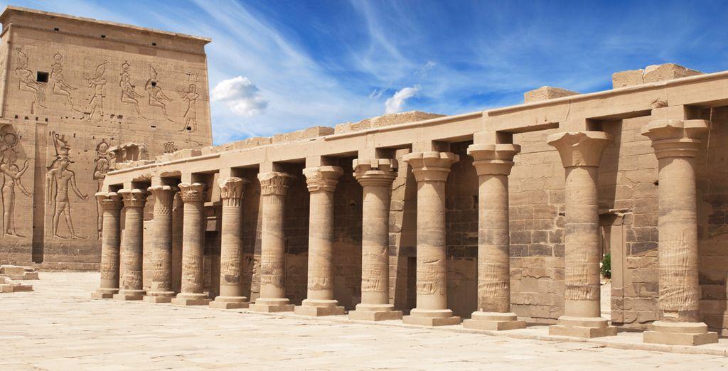 Conoce el templo dedicado a la Diosa Philae