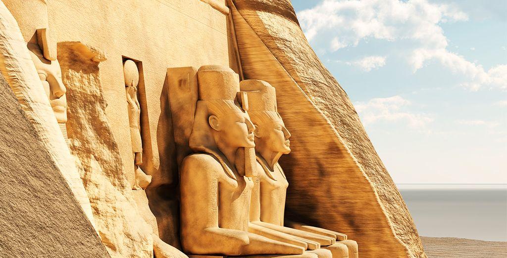 Abu Simbel excepcional, cuyo nombre significa