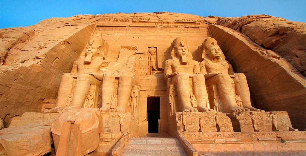 Un viaje a Egipto con visita a Abu Simbel