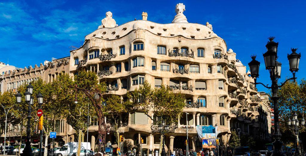 La Pedrera, las obras de Gaudí a un solo paso
