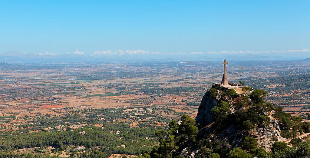 Contempla las hermosas vistas desde Sant Salvador, en Felanitx
