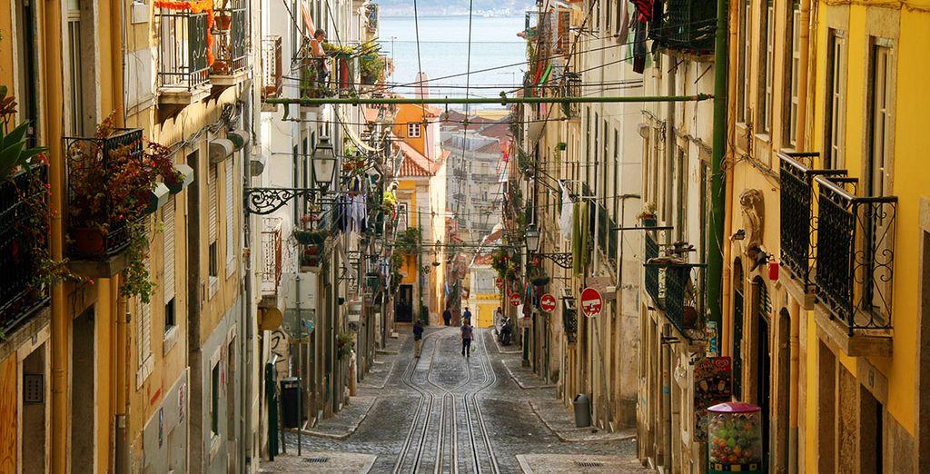 Perderse en sus calles resulta una experiencia gratificante y divertida
