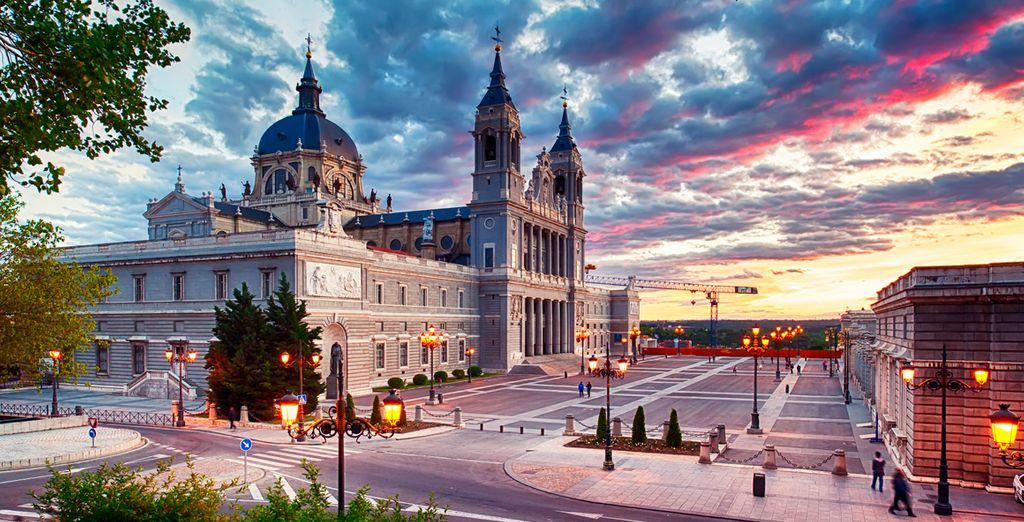 El Palacio Real, uno de los lugares más emblemáticos del centro de la ciudad