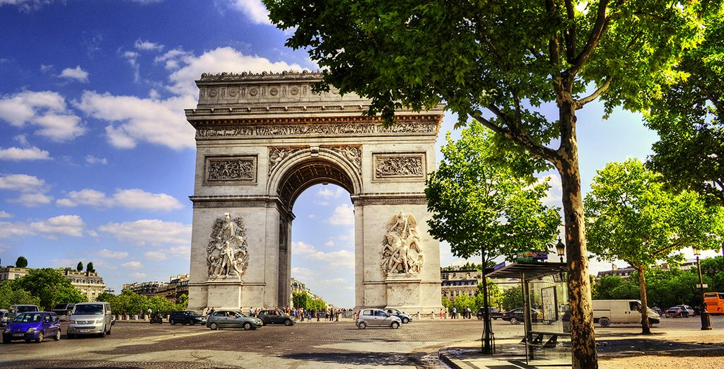 Una escapada para vivir una experiencia inolvidable en París