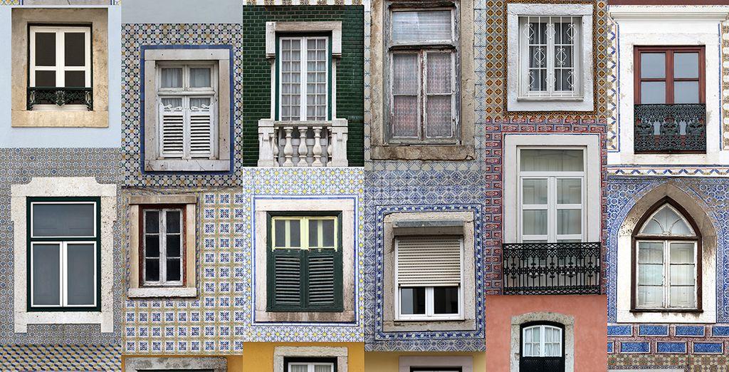 Disfruta de las casas típicas de la capital