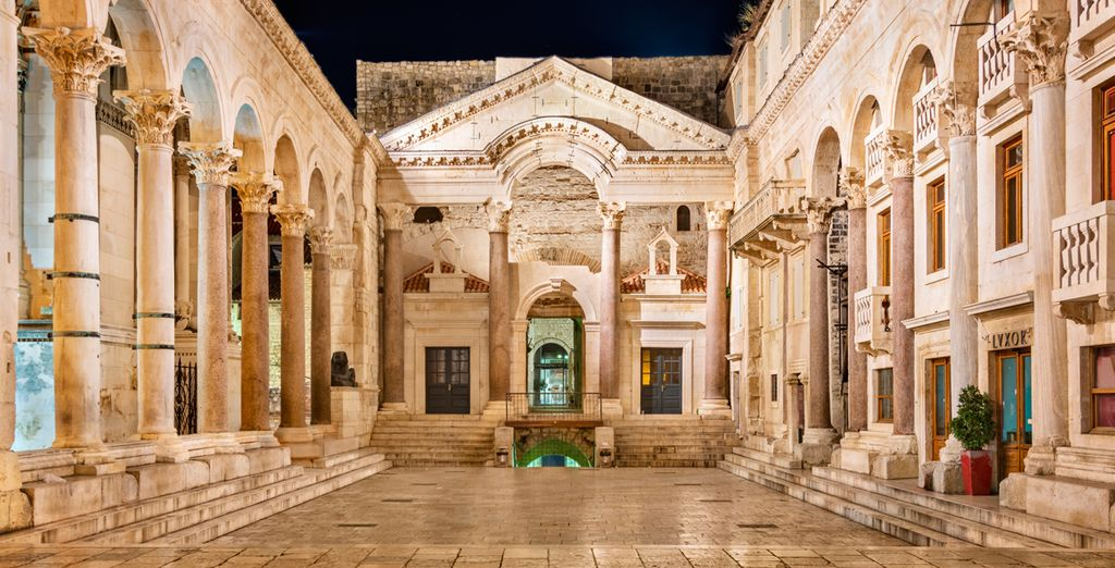 El Palacio Diocleciano, uno de los palacios románicos mejor conservados del mundo