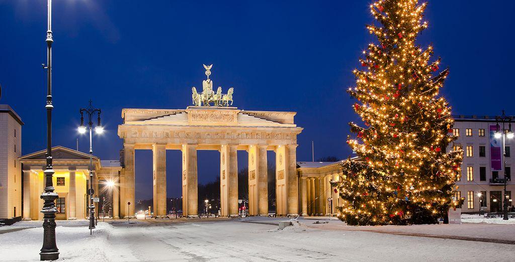 Invierno y Navidad son las épocas en las que Berlín se torna aún más mágica