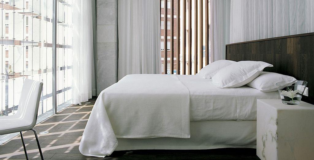 Alójate en una moderna y elegante habitación Dreamer's con una mejora a Dreamer's Palacio