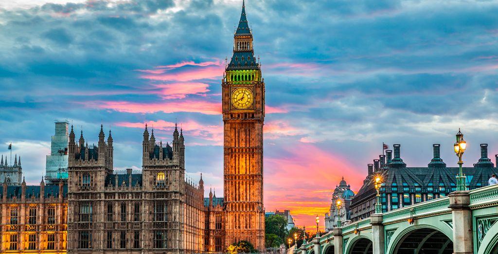 Visita Westminster y el famoso Big Ben