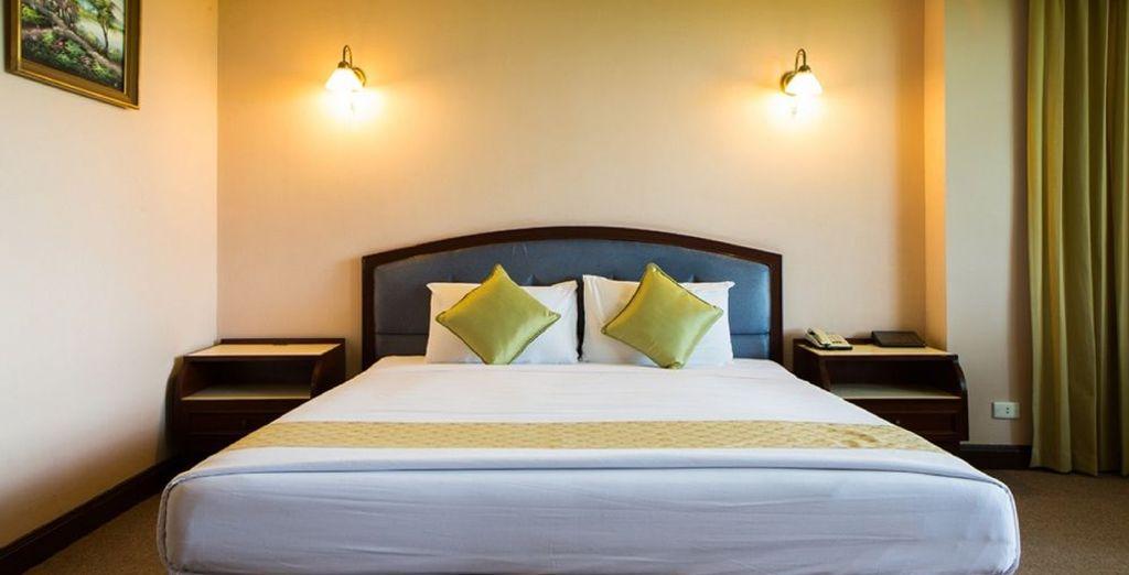 Tu habitación en Amarin Lagoon 4*, Phitsanulok