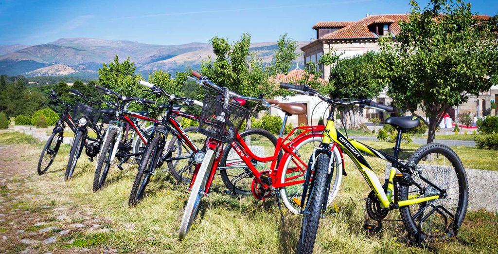 Dispondrás de descuentos en el alquiler de bicicletas