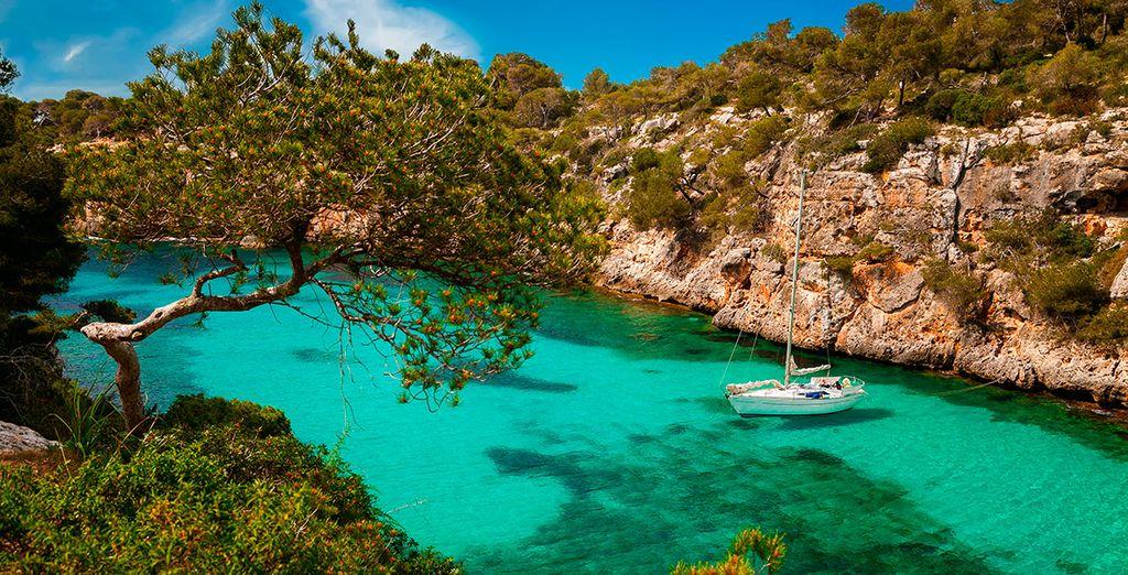 Disfruta de Mallorca, acércate a lugares como Cala Pi