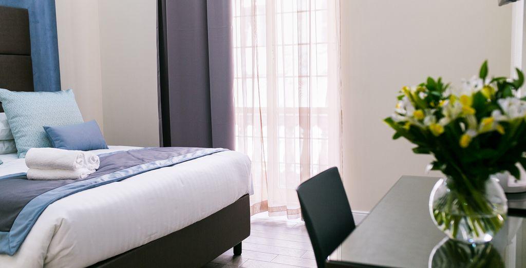 Bienvenido a los estilosos apartamentos Bloom Apartment by La Griffe