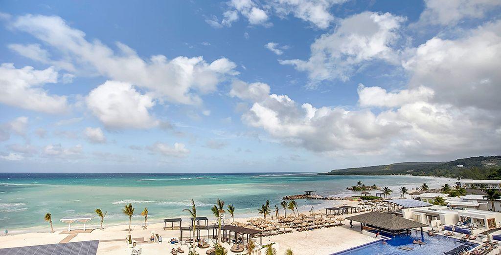 ... como sus vistas a la playa te ayudarán a desconectar y relajarte