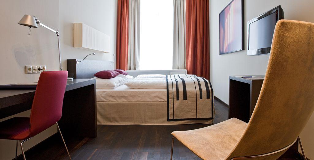 Bienvenido a tu habitación Deluxe