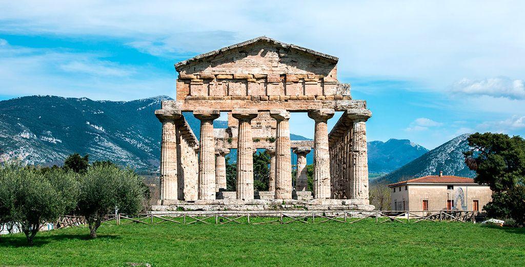 Conocerás el templo de Paestum