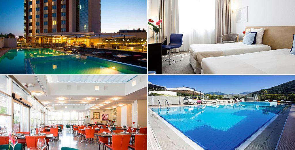 Novotel Salerno Est Arechi 4*, un hotel de estilo contemporáneo