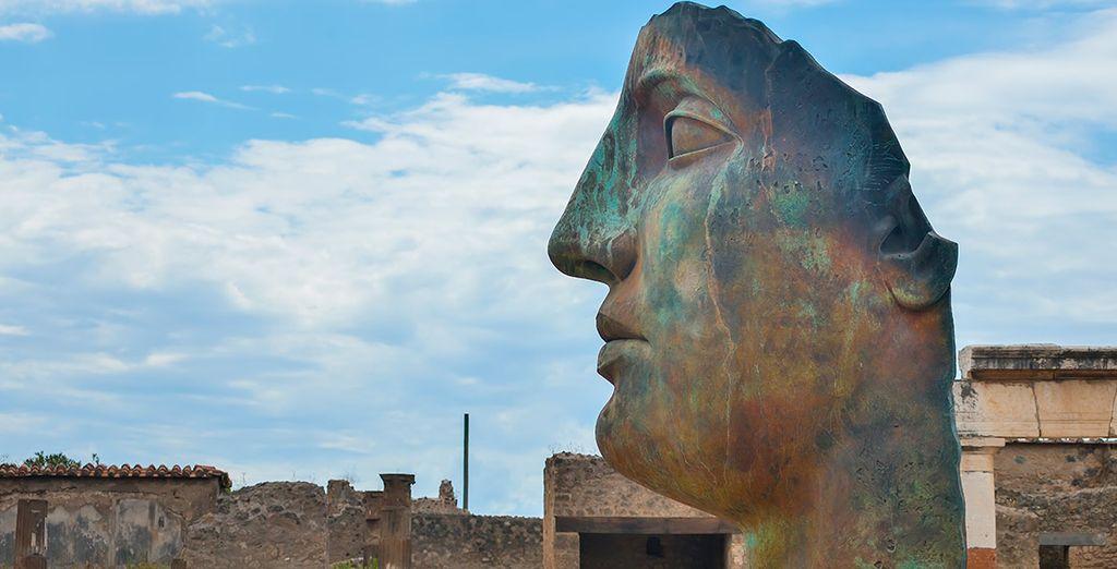 Las ruinas de Pompeya