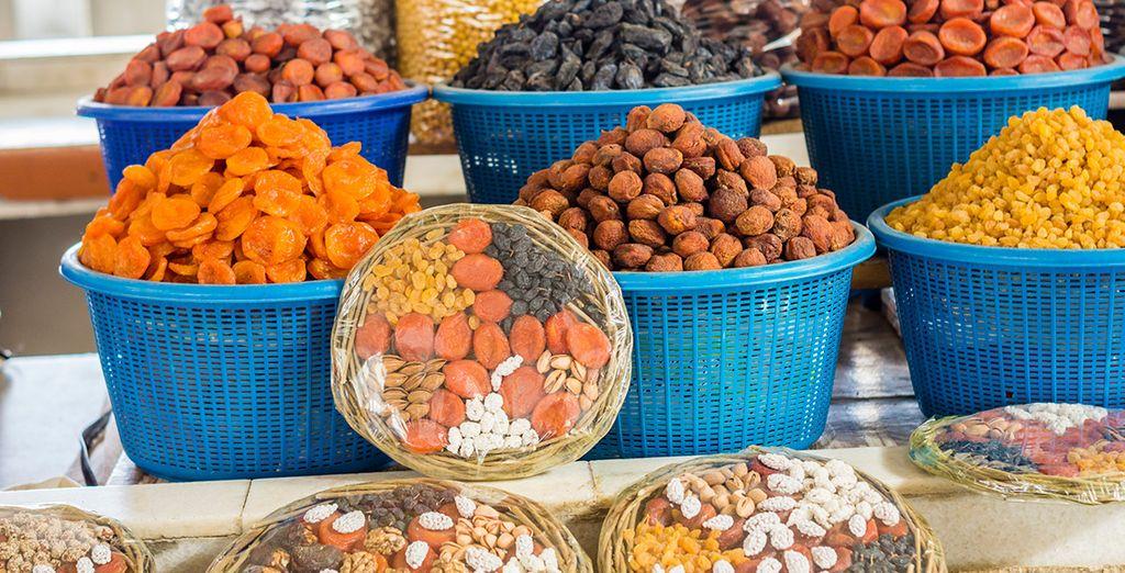 Saborea las delicias de su mercado