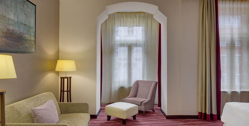 Tu Junior Suite, una mejora garantizada para habitaciones triples