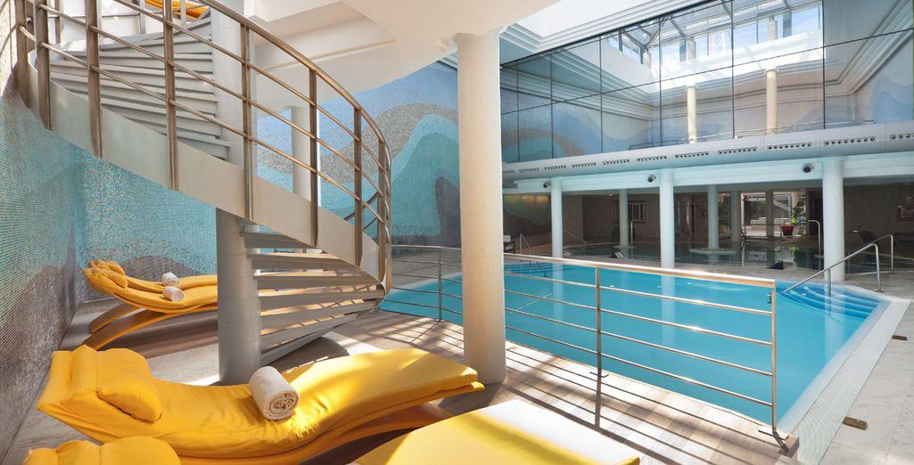 Tu hotel posee el mayor centro de talasoterapia de Andalucía
