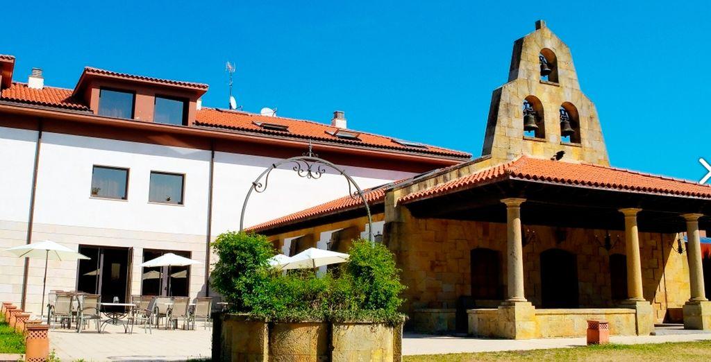 Oca Palacio De La Llorea Hotel & Spa 4* hace gala de un moderno palacete reformado