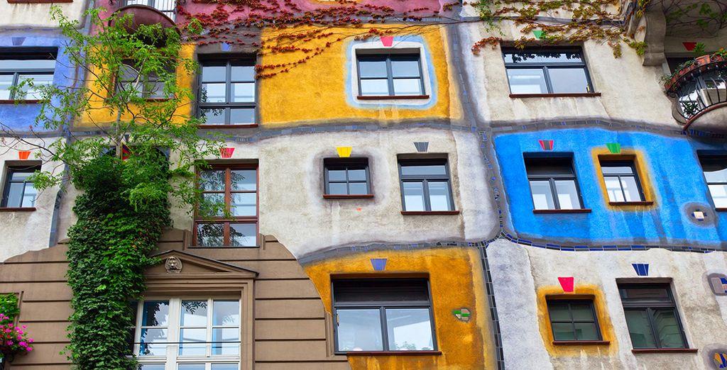 Visita la casa de Hundertwasser en Viena, Austria