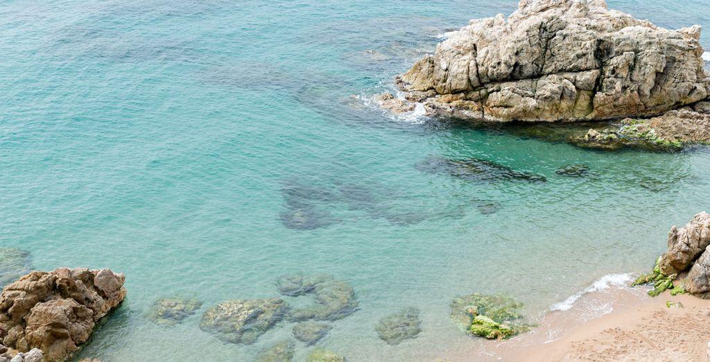Visita las playas de la Costa Brava