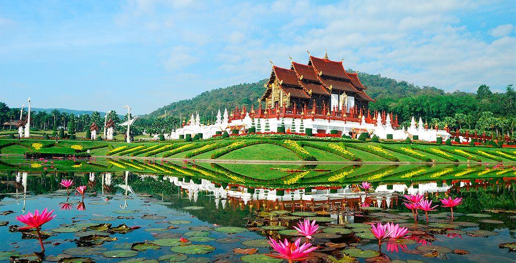 Chiang Mai es famosa por la belleza de sus alrededores