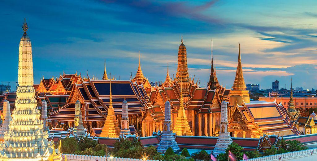 Wat Phra Kaew, un símbolo de Bangkok