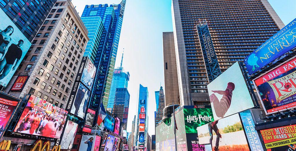 No te puedes perder el espectáculo de color de Times Square