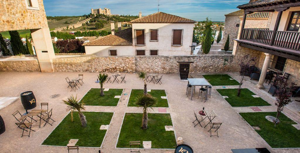 Situado en Belmonte, Cuenca, se encuentra en lo que antaño fue la primera fortaleza de Belmonte