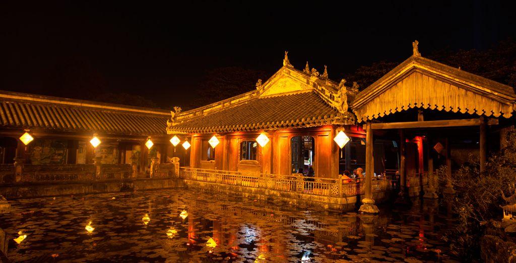El palacio imperial de Hue
