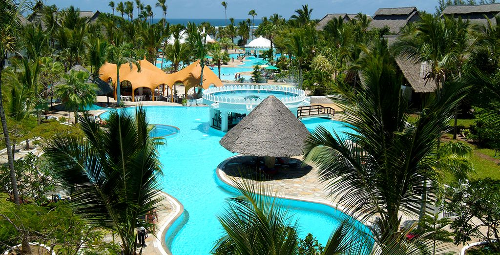 Se encuentra el Southern Palms Beach Resort 4*
