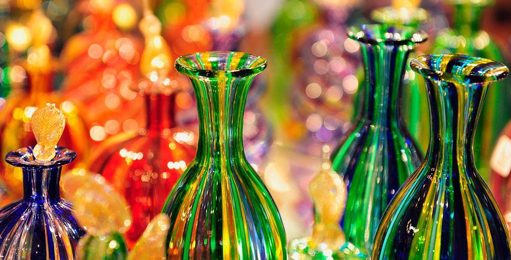 Admira las preciosas formas y colores de este cristal mundialmente conocido