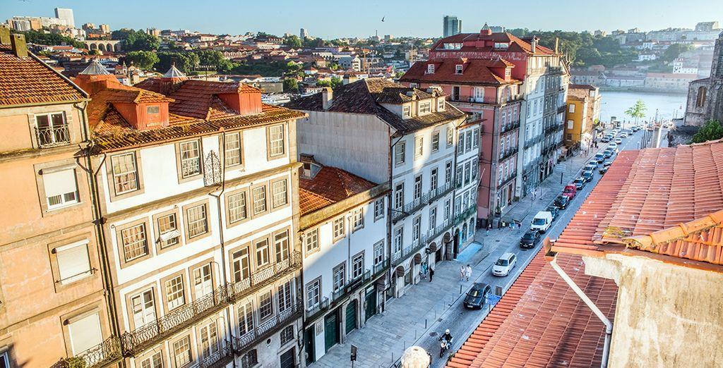 Un lugar único para contemplar el atardecer y la belleza portuguesa