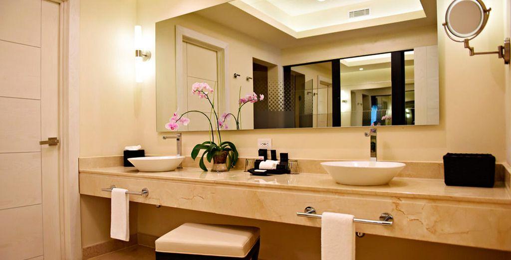Dispone de baños totalmente equipados